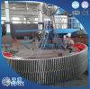 중국 공장에 의하여 주문을 받아서 만들어지는 큰 강철 기어
