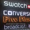 Im Freienled 3D bezeichnet Zeichenim freien im FreienSignage mit Buchstaben