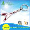 Barato al por mayor aerolínea de aleación de zinc de metal personalizados avión Logo-Printing Llavero Sin mínimo