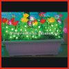 Nouveau design coloré pour la décoration de bureau avec le pot de fleurs de lumière à LED