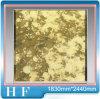 Antieke Spiegel - Gouden Gelamineerd Glas - A018