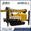 DFQ - 300 DTH Crawler Tipo de neumático El agua de perforación Rig Máquina