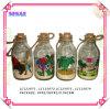 Bottiglia di direzione di vetro, ricordo, regali