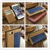 2016 Горяч-Продавая случай/крышек мобильного телефона Jean+Canvas кожаный для iPhone 6/6s