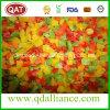 Pimenta misturada amarela verde vermelha congelada IQF