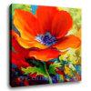 큰 꽃 고명한 기름 예술 (SJMY2927)
