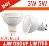 Aluminium 3000-6500k Gu 10 5730 SMD LED Bulb 5W 7W Spotlights