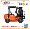 Vmax Gabelstapler-Kapazität 2 Tonnen-Diesel-Gabelstapler