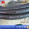 단 하나 Wire Braid Reinforcement 및 Fiber Braided Cover SAE 100r5