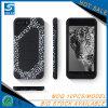 Samsung S8를 위한 주문을 받아서 만들어진 표범 인쇄 작풍 전화 상자 플러스
