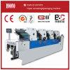 Cuatro máquinas de impresión en offset del color