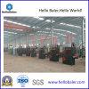 Presse verticale Vm-3 de machines d'emballage de presse hydraulique de la Chine de Hellobaler