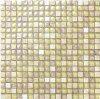 Knistern-Glasmischungonyx-Mosaik-Fliese-goldene auserwählte Mosaik-Wand-Fliese