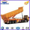 Camiones pesados Eje 3 en forma de U Remolque Volquete