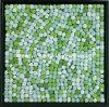Mosaico cristalino del guijarro del resorte, mosaico del guijarro del jardín, mosaico