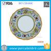 Vente chaude Dragon chinois de la plaque d'oeufs en porcelaine