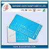 Cartão de visita de plástico simples e bonito Glossy / Matt / PVC transparente geado