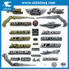Логос пластмассы конкурентоспособной цены 3D