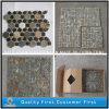 Natual Rusty / Colorful Slate Mosaic Stone Tile for Wall Cladding