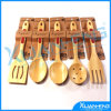 Sets를 위한 취사 도구 Natural Bamboo Spoon 5PCS