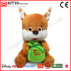 Het knuffel Gevulde Dierlijke Zachte Stuk speelgoed van de Pluche van de Eekhoorn voor de Jonge geitjes van de Baby