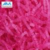 Remplissage déchiqueté coloré rose décoratif fait sur commande de papier de soie de soie