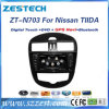 Audio dell'automobile per Nissan Tiida con percorso di DVD GPS