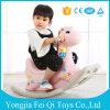 Les meubles de gosses placent le jouet en plastique de jouets d'enfants pour le jouet de jeu de cheval d'oscillation de gosses (FQ-YM668)