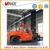 Dieselgabelstapler des Fabrik-Preis-10ton mit der Kabine hergestellt in China