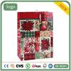 Rotes Blumen-Muster-Bekleidungsgeschäft-Kunst-Geschenk-Papierbeutel