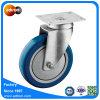 100kg Wiel van de Gietmachine van de Capaciteit van het lager 5inch het Blauwe Pu Stille
