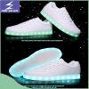 USB lumineux chargeant les chaussures légères de DEL de la couleur 3 changeable