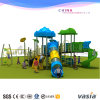 Спортивная площадка радостного замока игры детей напольная (VS2-2064A)
