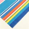 Algodón de poliéster T / C colorido Terry Rayon Tr Tela de tira para la sábana de la cama