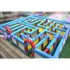 Labyrinthe gonflable gonflable de militaires de labyrinthe de labyrinthe/de laser étiquette géante de laser