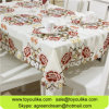 Mantel bordado flor exquisita al por mayor del Cutwork