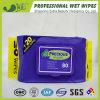 Flushable 100% Bambus-Faser-organisches Baby-nasse Wischer