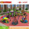 魅力的な外観の遊園地の子供の屋外の運動場装置