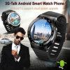 새로운 형식 GSM 3G 쿼드 코어 인조 인간 5.1 지능적인 시계