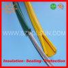 Gelbe Silikon-Gummi-obenliegende Zeile Deckel für Leiter-Schutz