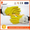 Het Katoen van Ddsafety 2017 met de Gele Handschoen van het Latex