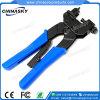 Ferramenta impermeável da compressão do cabo Rg59/RG6 dos conetores do CCTV F (T5081)