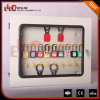 Kabinet Van uitstekende kwaliteit van het Hangslot van de Veiligheid van Elecpopular het Multifunctionele met Transparante Weindow