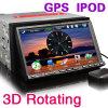 7  2 reproductores de DVD del coche del estruendo HD con Sat. Nav. iPod (ES805G)