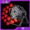 PAR 64 RGBWA 18X15W 5en1 conduit par la lumière