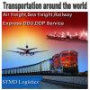 Transport aérien professionnel fret maritime transitaire Agent de transport de chemin de fer autour Le monde