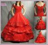 Vestido de casamento bonito do fora-Ombro (AS5987)