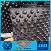 Scheda di drenaggio di colore del nero della costruzione del garage con l'alta fossetta di 8mm