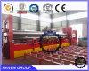 W11S rolete superior hidráulico da máquina de laminação universal, três rolos máquina de dobragem da placa