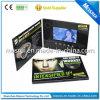 Video cartolina d'auguri dell'affissione a cristalli liquidi Digital, video opuscolo di pubblicità